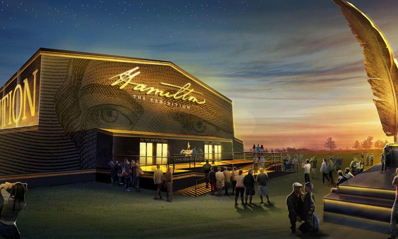 Hamilton: The Exhibition in Chicago