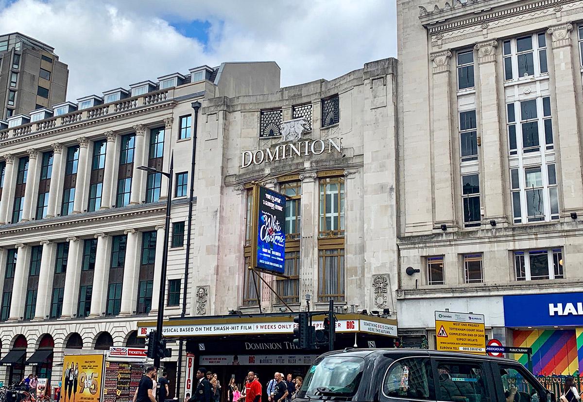 Dominion Theatre in London, UK.