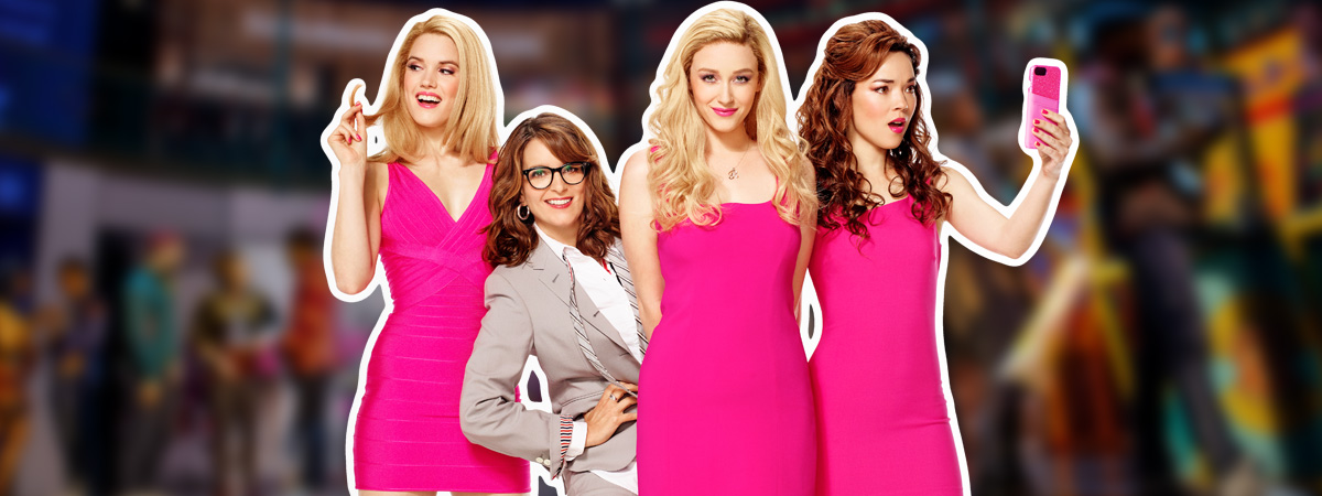 The Plastics for the National Tour of Mean Girls the Musical with Tina Fey