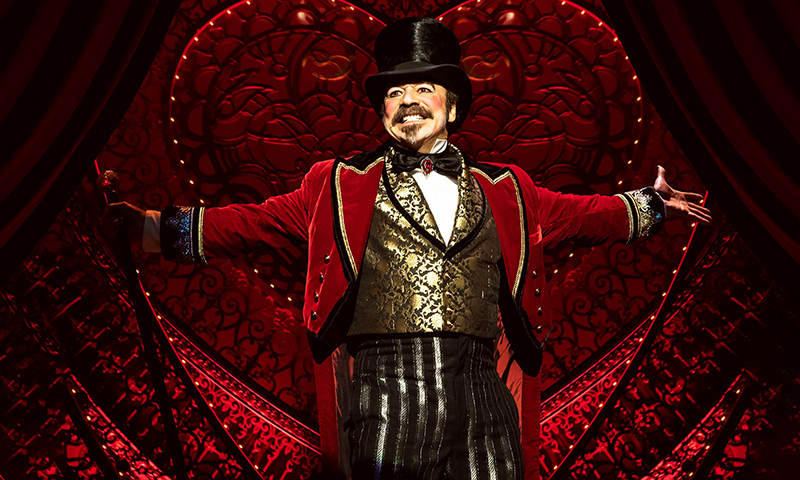 Danny Burstein in <i>Moulin Rouge! The Musical</i>. Photo by Matthew Murphy.