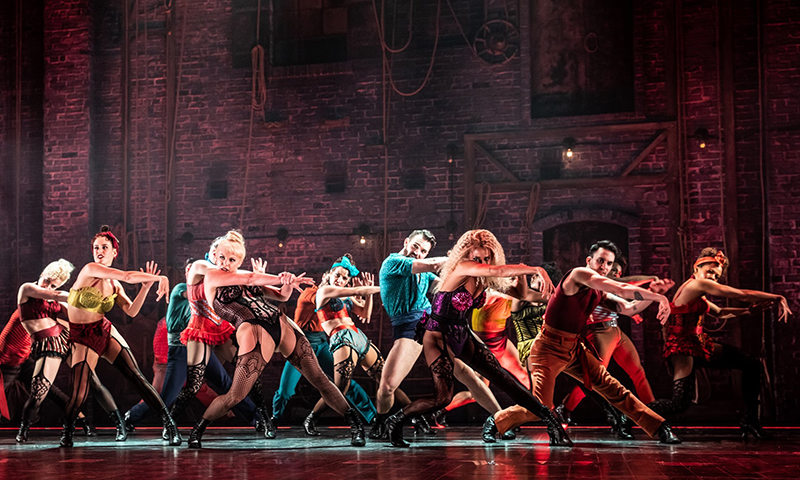The company of <i>Moulin Rouge! The Musical</i>. Photo by Matthew Murphy.
