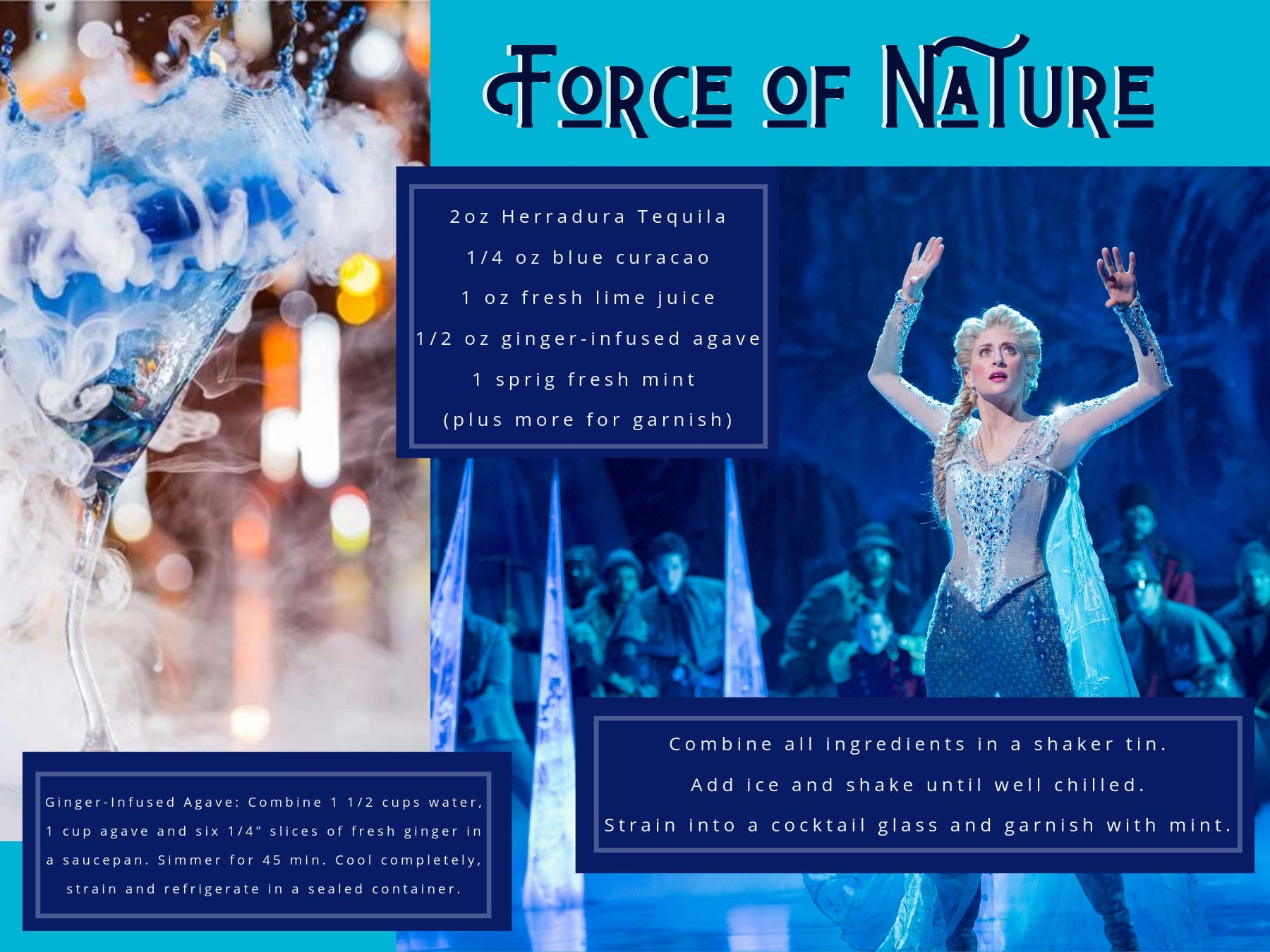"""Force of Nature"" inspired by Frozen."
