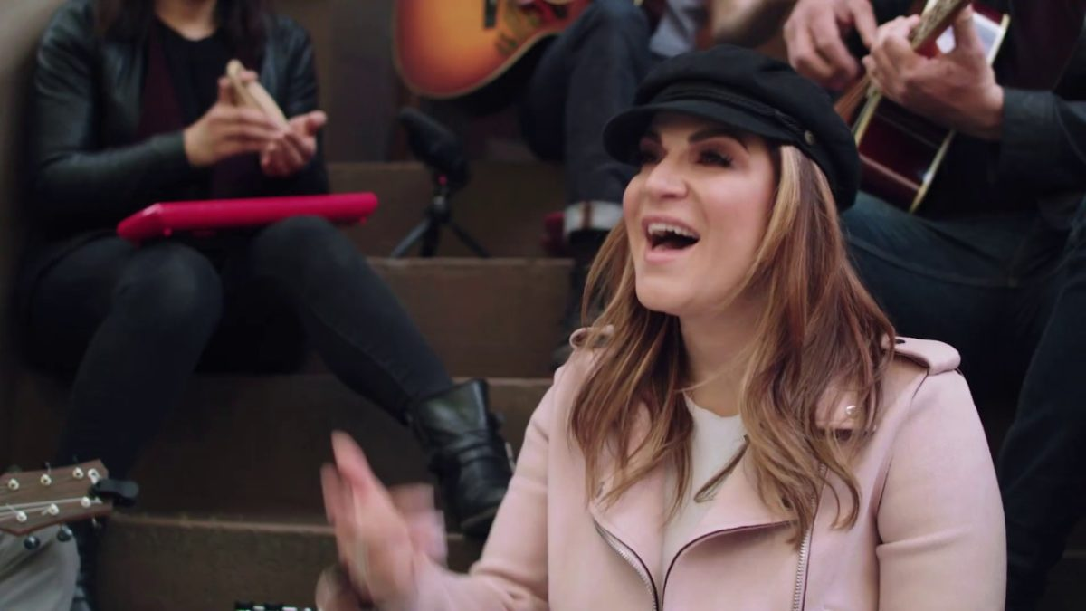 "Shoshana Bean performs ""Door Number Three"" from Waitress"