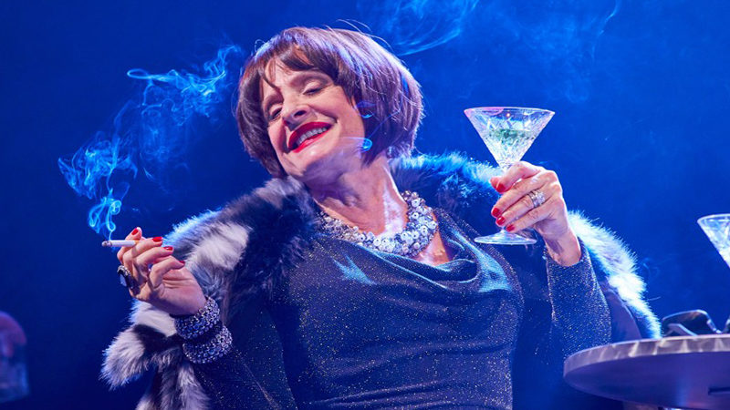 Patt LuPone in the West End production of Company