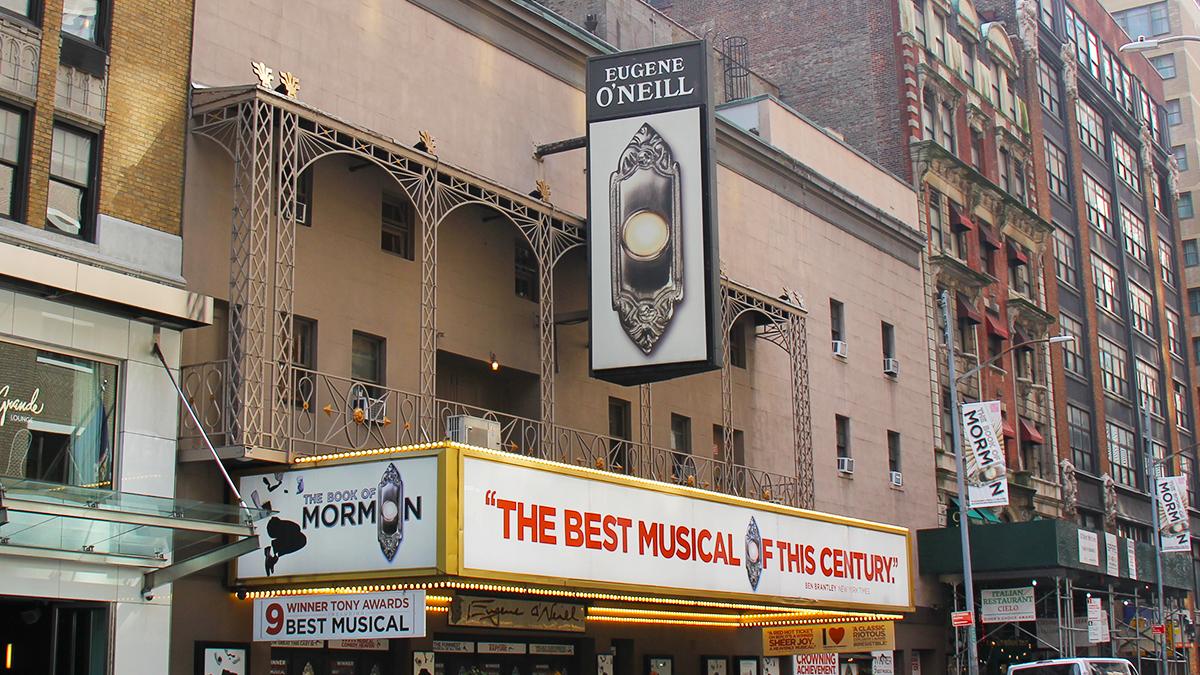 Eugene O'Neill Theatre Marquee