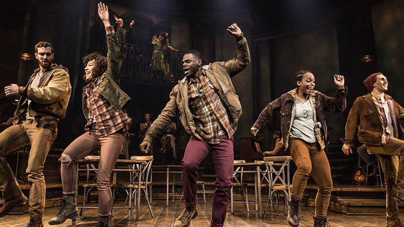 The Broadway company of Hadestown