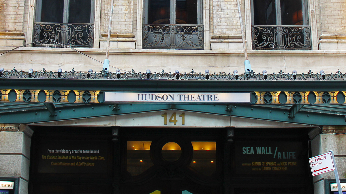 Hudson Theatre Marquee