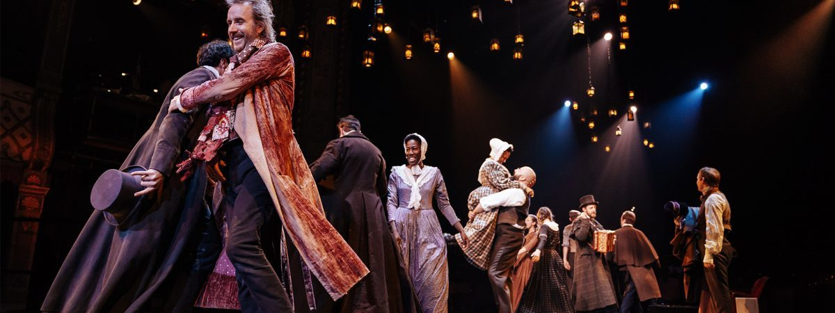 the Old Vic production of A Christmas Carol
