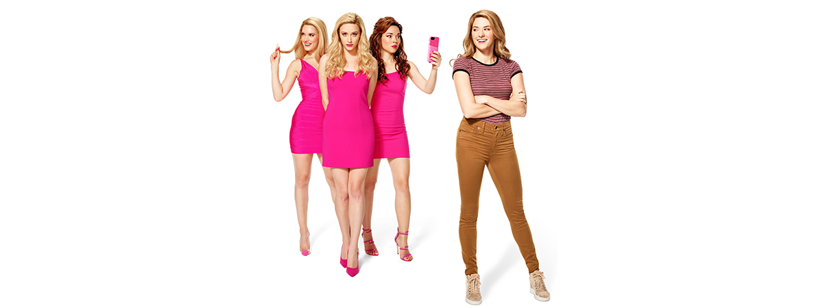 The cast of the National Tour of Mean Girls the Musical