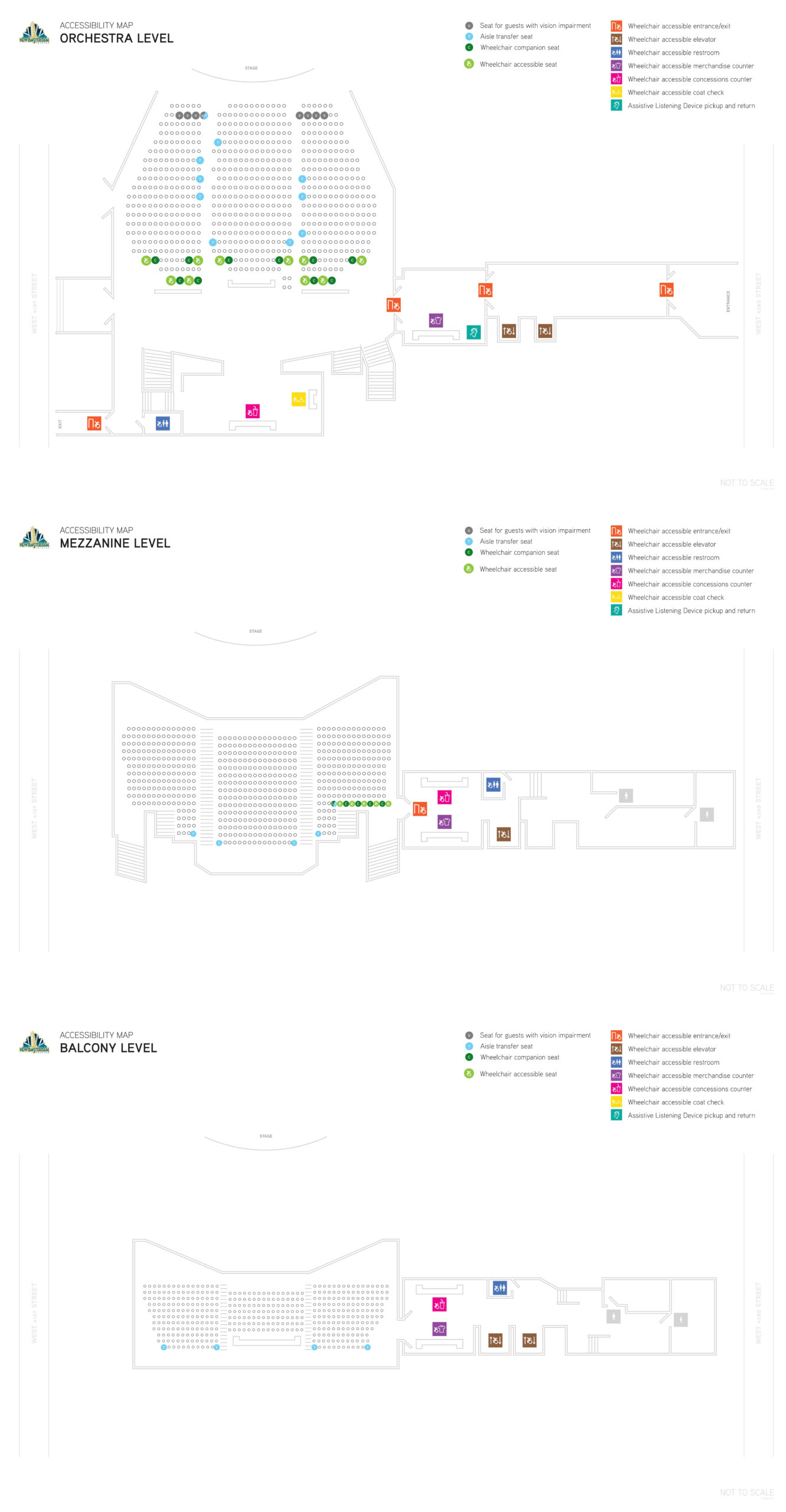 New Amsterdam Theatre Seating Chart