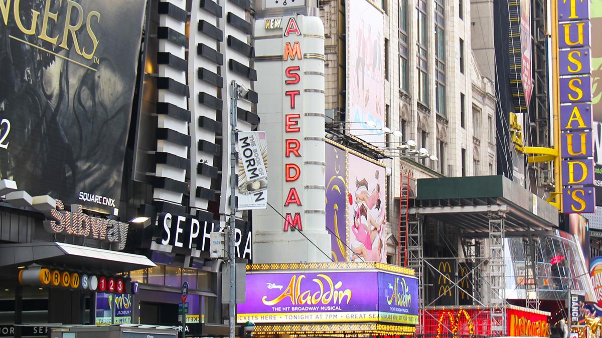 New Amsterdam Theatre Marquee