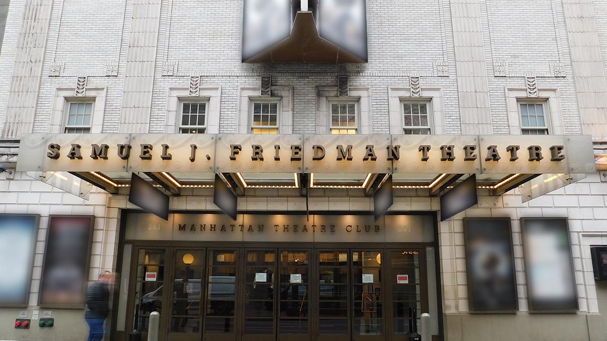 Samuel J. Friedman Theatre Marquee