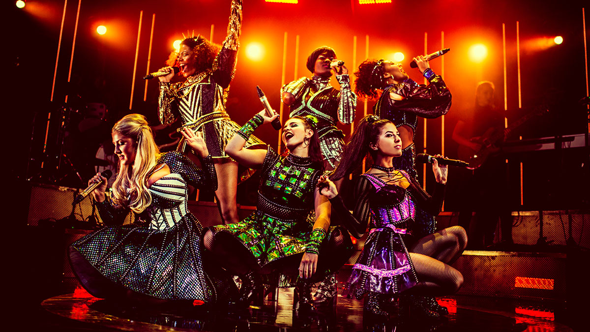 The London cast of SIX the Musical