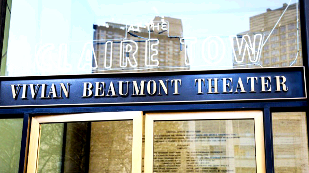 Vivian Beaumont Theater Marquee