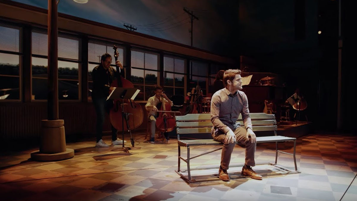 "Jeremy Jordan Sings Unreleased Song ""Believer"" from Waitress"