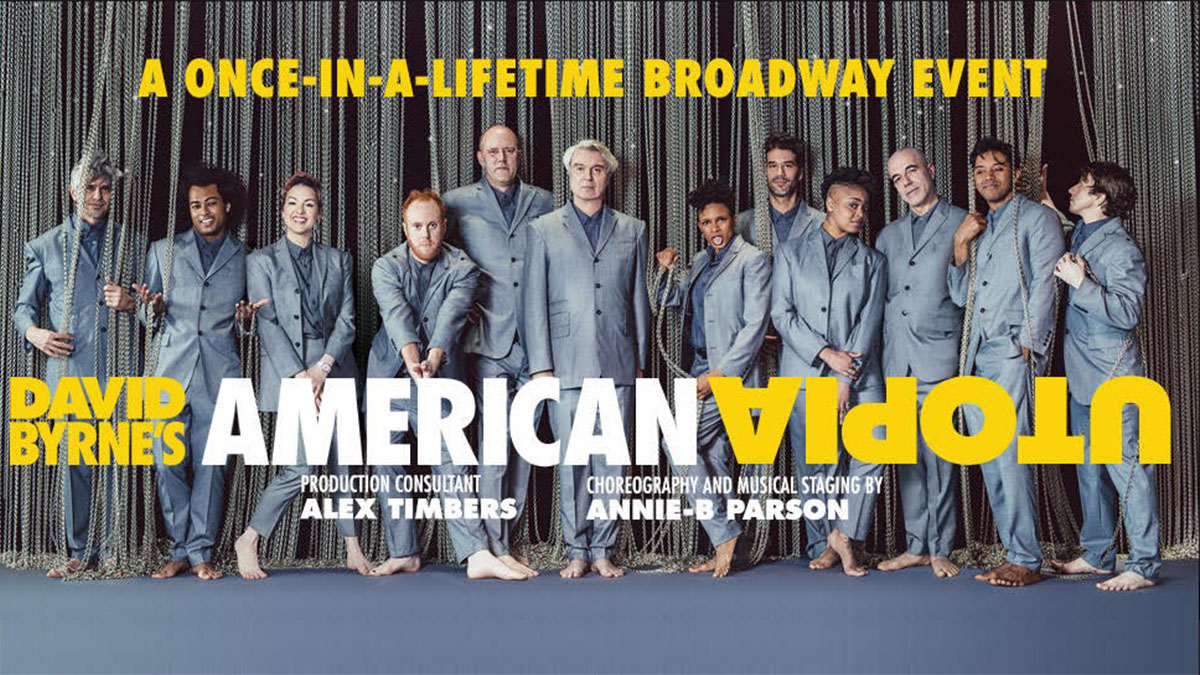A message from David Byrne about American Utopia