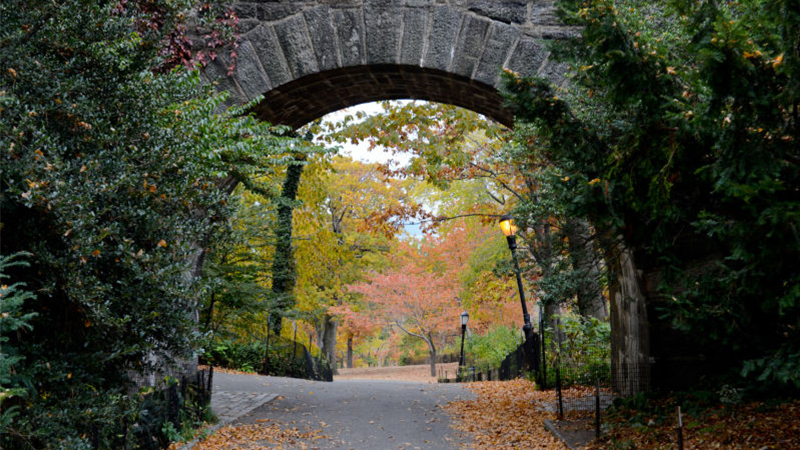 Fort Tryon Park.