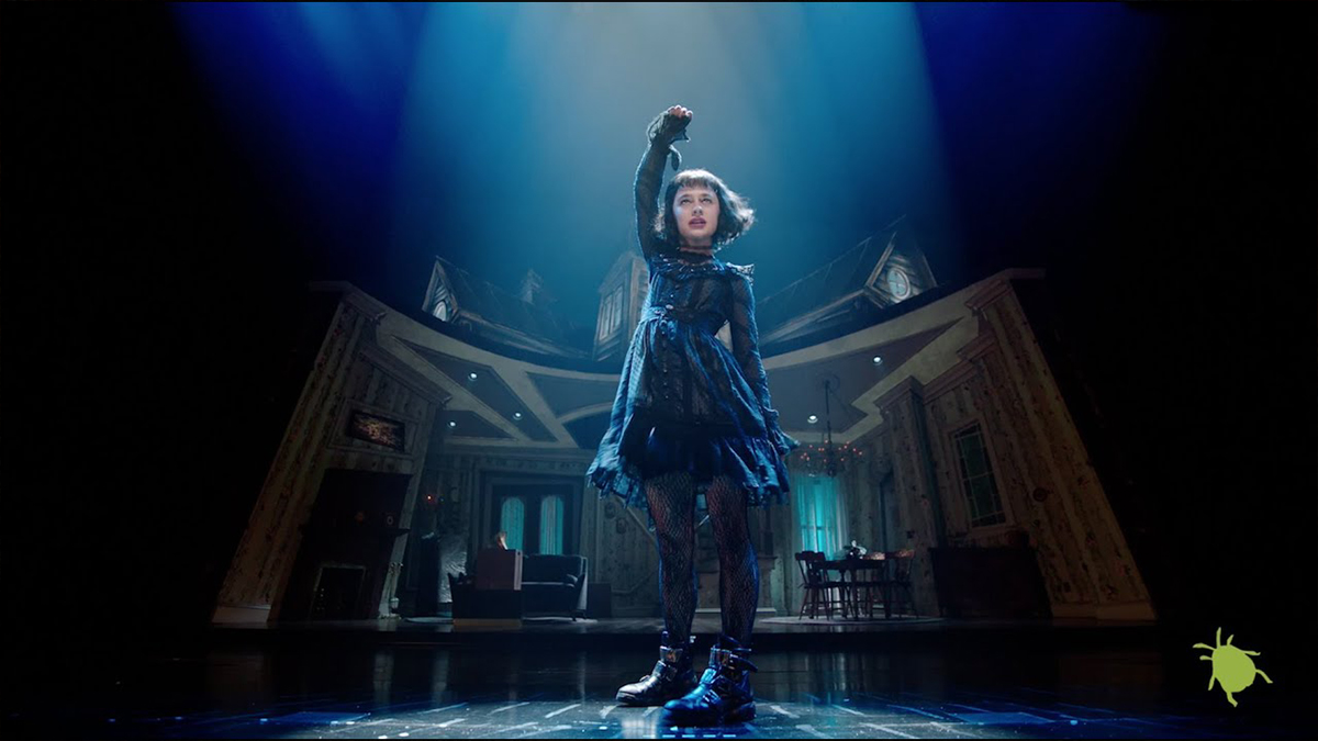 "Watch Sophia Anne Caruso in ""Dead Mom"" Music Video from Beetlejuice"