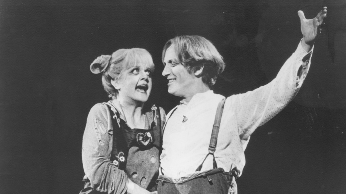 Sweeney Todd with Angela Lansbury and George Hearn