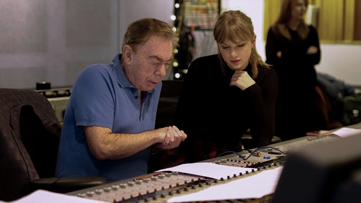 Taylor Swift and Andrew Lloyd Webber Cats
