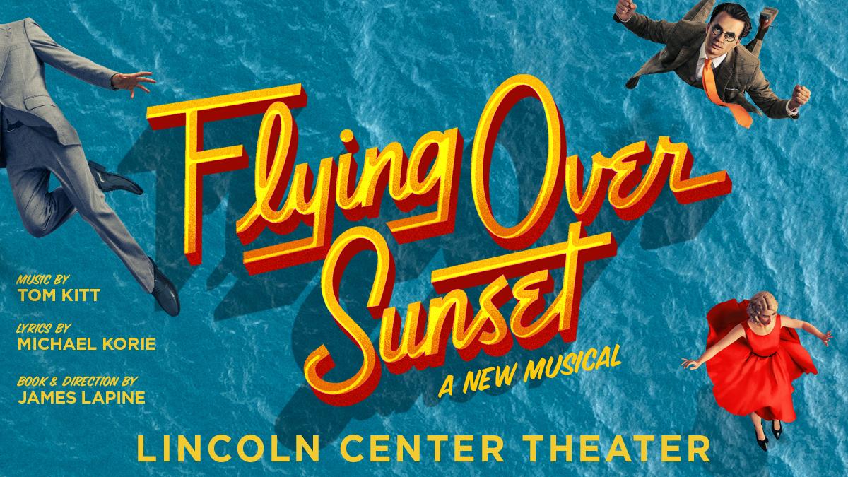 Flying Over Sunset