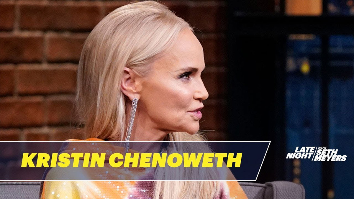 Kristin Chenoweth on Seth Meyers