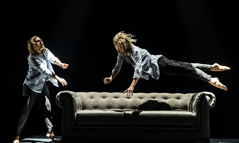 Elizabeth Stanley and Heather Lang in <i>Jagged Little Pill</i>. Photo by Matthew Murphy.