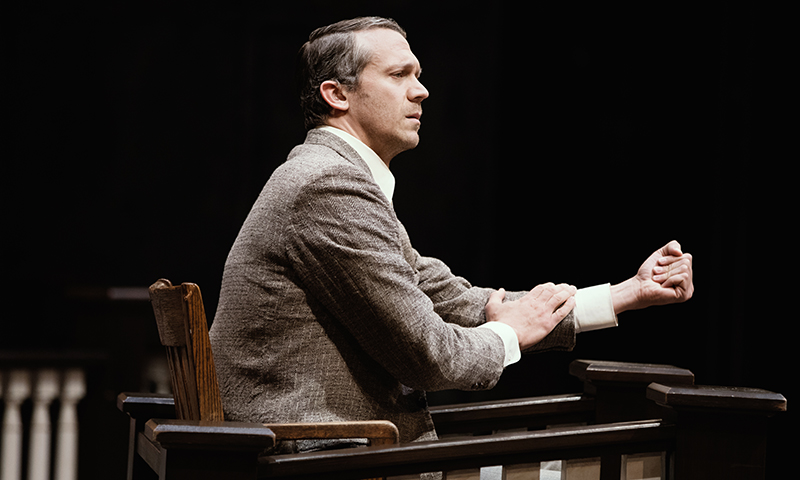 Russell Harvard in <i>To Kill a Mockingbird</i>. Photo by Julieta Cervantes.