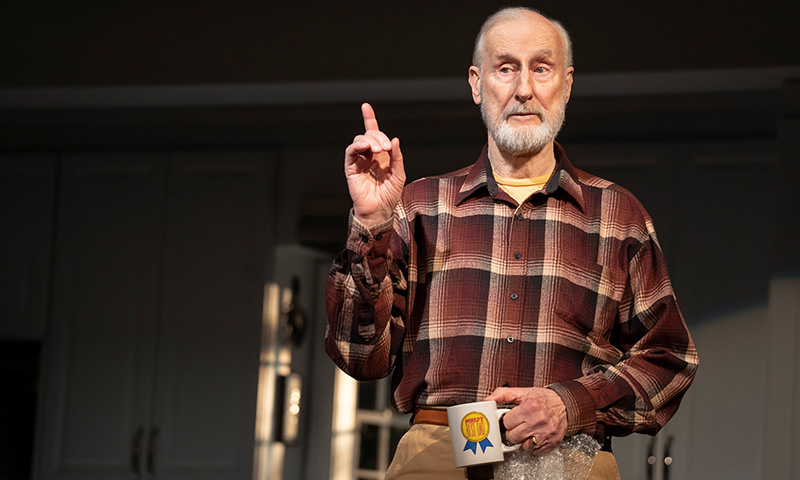 James Cromwell in <i>Grand Horizons</i>. Photo by Joan Marcus.