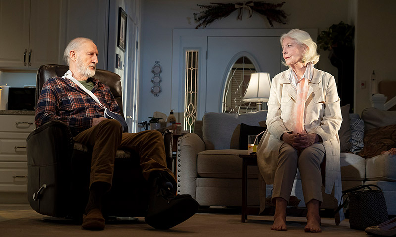 James Cromwell and Jane Alexander in <i>Grand Horizons</i>. Photo by Joan Marcus.