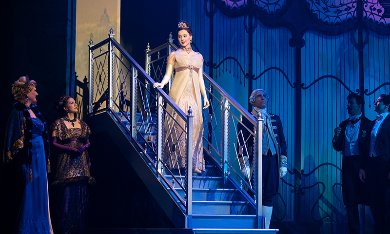 Shereen Ahmed in the national tour of <i>My Fair Lady</i>. Photo by Joan Marcus.