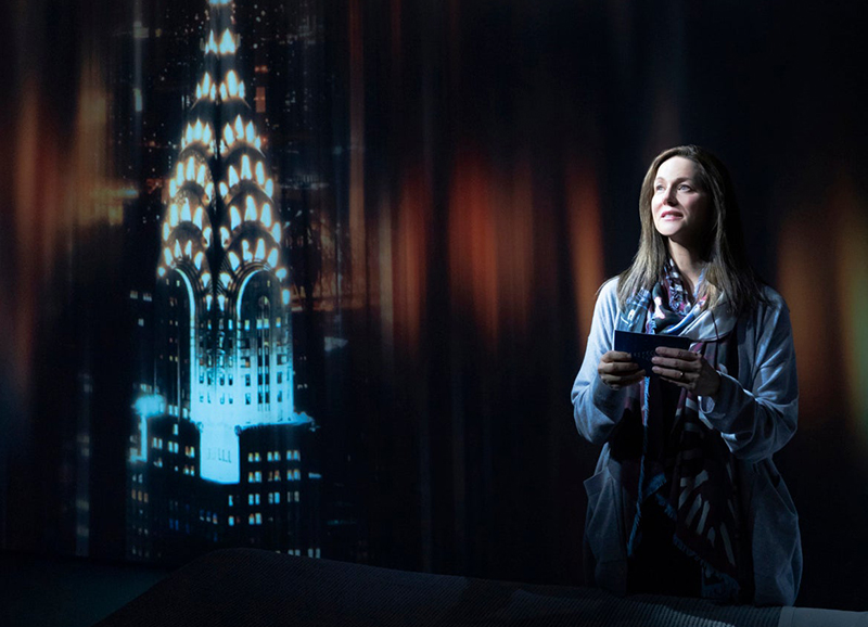 Laura Linney in <i>My Name is Lucy Barton</i>. Photo by Matthew Murphy.