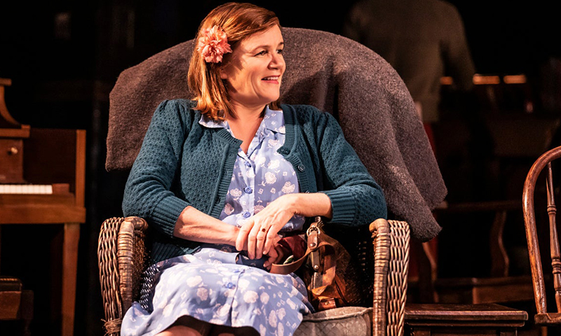 Mare Winningham in <i>Girl From the North Country</i>. Photo by Matthew Murphy.