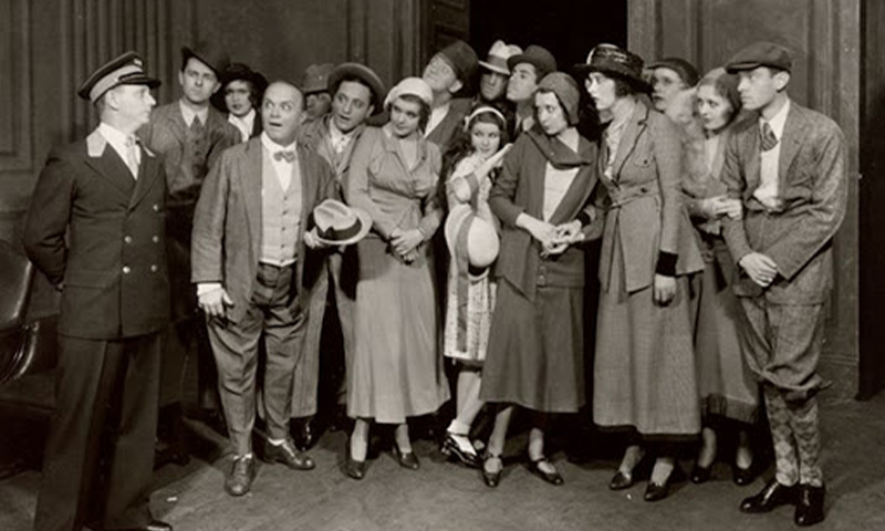 "Cast of the Broadway Production of ""Of Thee I Sing"""
