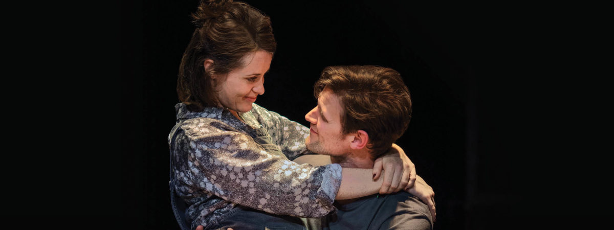Claire Foy and Matt Smith in Lungs