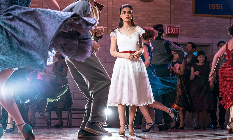 Rachel Zegler in the <i>West Side Story</i> film.