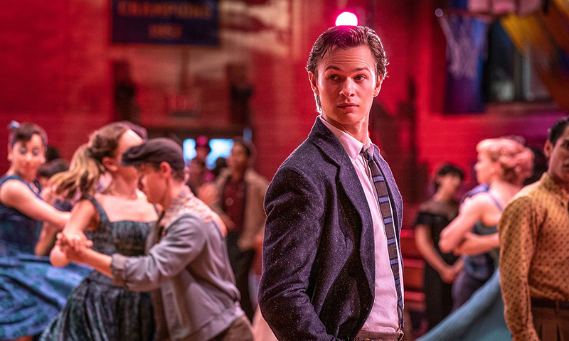Ansel Elgort in the <i>West Side Story</i> film.