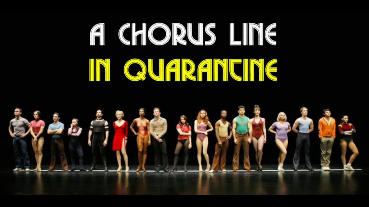 A Chorus Line in Quarantine