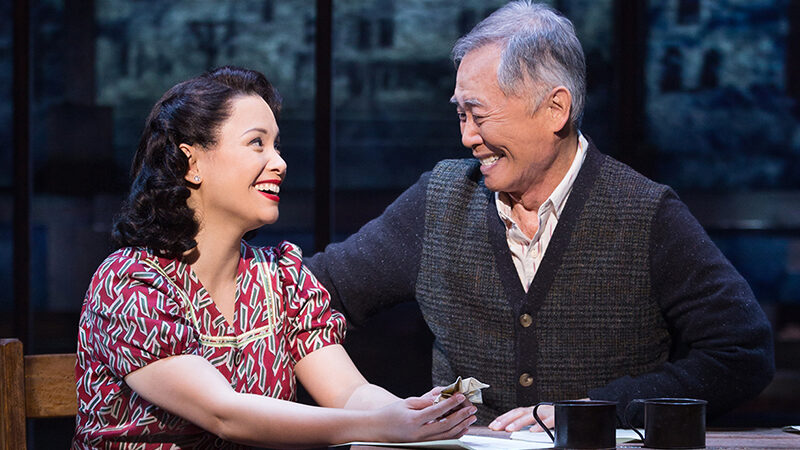 Allegiance Lea Salonga and George Takei