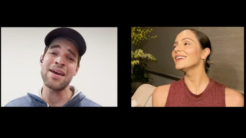 Katharine McPhee and Jeremy Jordan