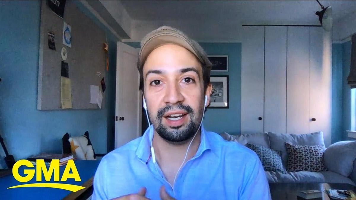 Lin-Manuel Miranda on Good Morning America