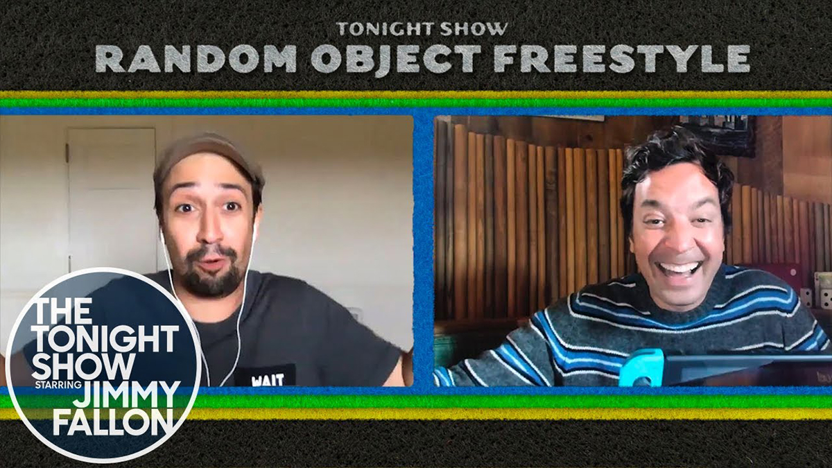 Random Object Freestyle with Lin-Manuel Miranda