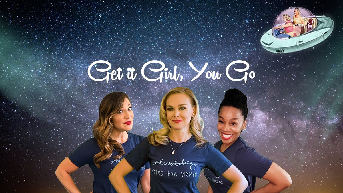 Shoshana Bean, Laura Bell Bundy, and Anika Noni Rose in Get It Girl You Go