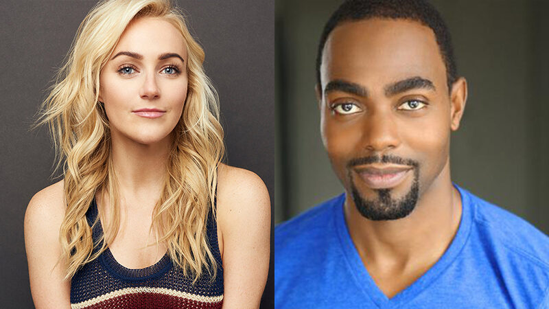 Betsy Wolfe and Clifton Duncan