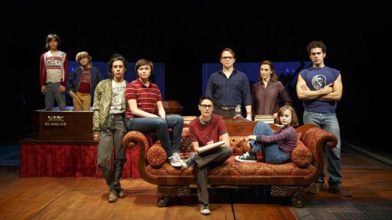 Original Broadway cast of <i>Fun Home</i>. Photo by Joan Marcus.