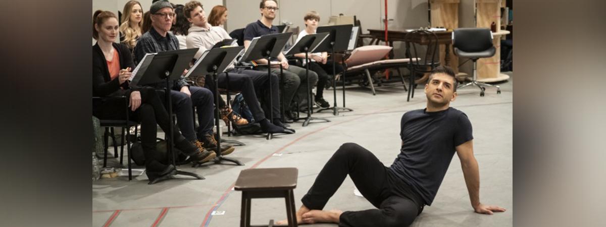Tony Yazbek in Flying Over Sunset Rehearsals