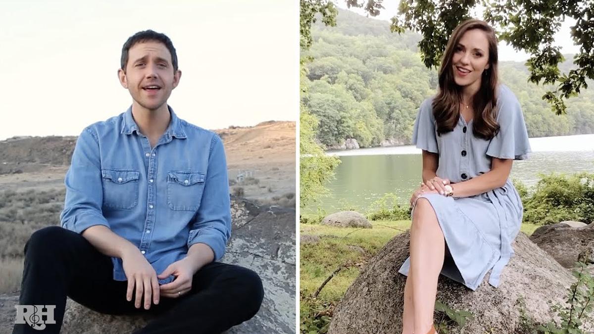 Laura Osnes and Santino Fontana Sing Mashup