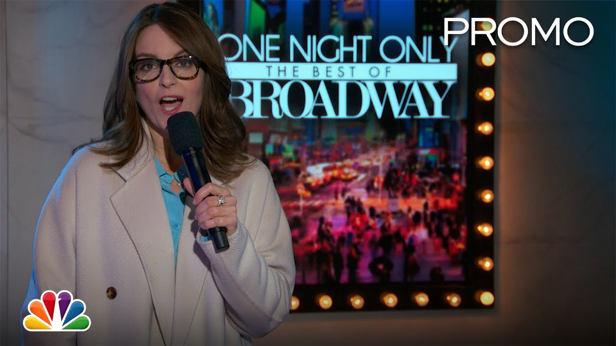 "Tina Fey Brings You ""One Night Only: The Best of Broadway"""