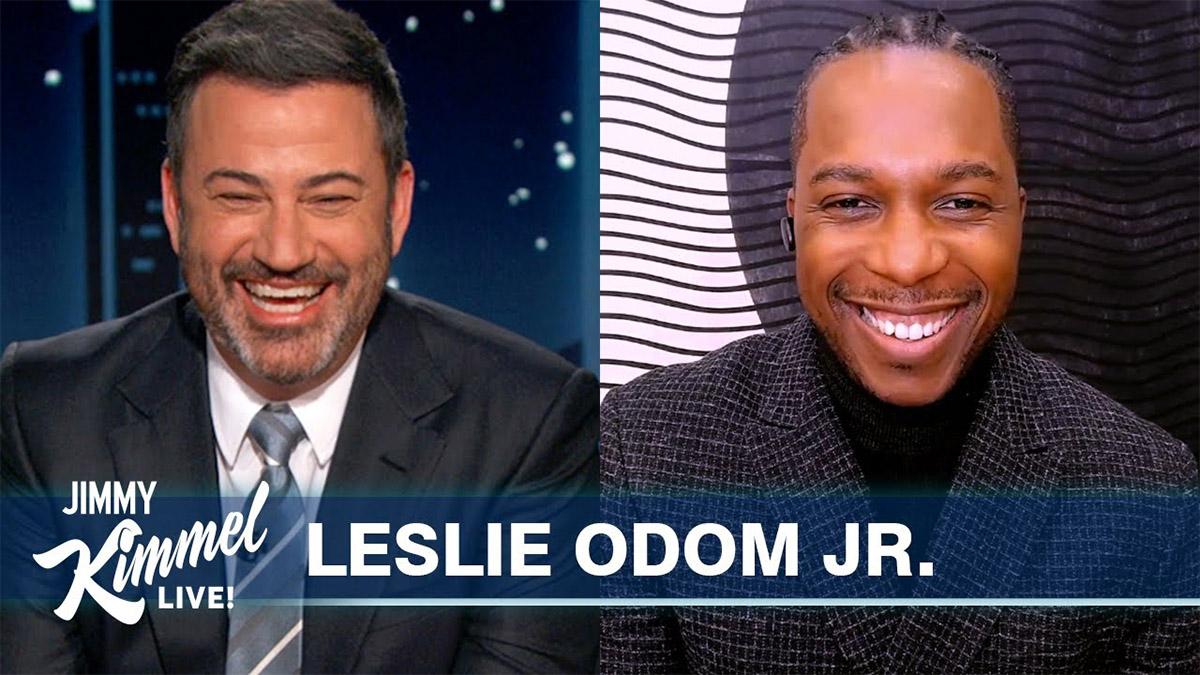 Leslie Odom Jr. on Jimmy Kimmel Live