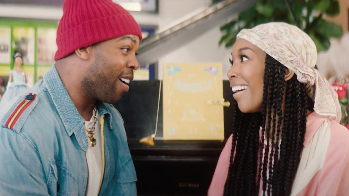 Brandy and Todrick Hall Sing a Cinderella Medley